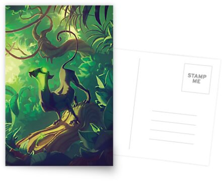 Acid Panther Illustrative by TastesLikeAnya