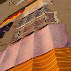 Saris Drying on the Steps by SerenaB