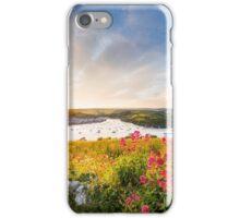 Salcombe at sunset iPhone Case/Skin