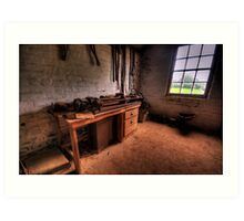 The Workshop  - Monte Christo Mansion, Junee NSW, The HDR Experience Art Print