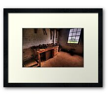 The Workshop  - Monte Christo Mansion, Junee NSW, The HDR Experience Framed Print