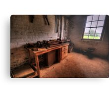The Workshop  - Monte Christo Mansion, Junee NSW, The HDR Experience Metal Print