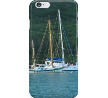Two Boats in the Cove iPhone Case/Skin