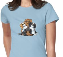 CKCS - Portait of Royalty Womens Fitted T-Shirt