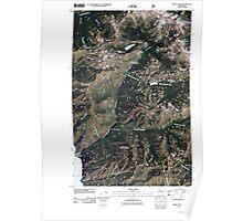 USGS Topo Map Washington State WA Prince Creek 20110427 TM Poster