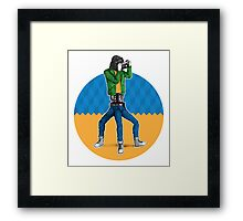 kitsch: the end of the century Framed Print