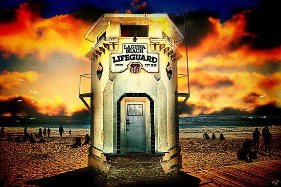 Laguna Beach Lifeguard HQ by Chris Lord