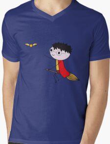 Harry Potter Quidditch Mens V-Neck T-Shirt