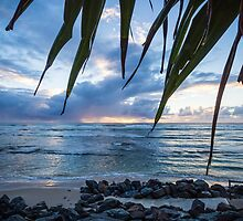A Peaceful Morning at Lennox Head. by Daniel Rankmore