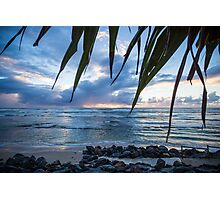 A Peaceful Morning at Lennox Head. Photographic Print