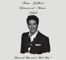 Ross Geller's Divorced Men's Club by HogTownProject