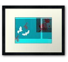 Killer birds Framed Print