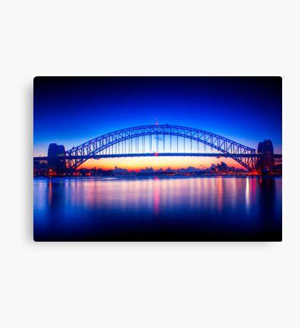 First Light-Sydney Harbour Bridge Canvas Print