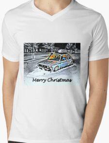 Rat look in the snow Mens V-Neck T-Shirt