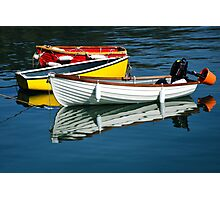Row-boats ~ Lyme Regis Photographic Print