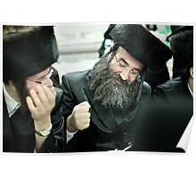 Shabbat Faces . Harcikn Dank ! A dank  ojch zejer! .Leżajsk. ### 130 ### , by Andrew Brown Sugar  Poster