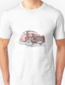 Classic Mini Cooper Car Unisex T-Shirt