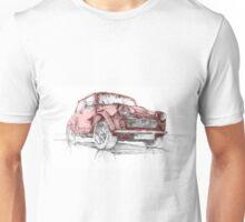 Classic Mini Cooper Car Unisex T-Shirt