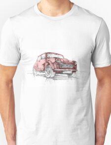 Classic Mini Cooper Car T-Shirt