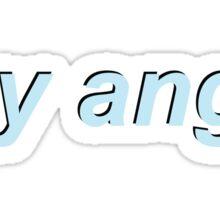 hey angel Sticker