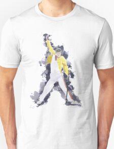 Freddie Mercury Splash Watercolor T-Shirt