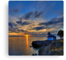 The Remains of the Day Canvas Print