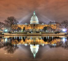 U.S. Capitol by hogie247