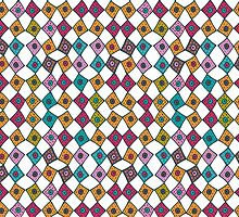 Moroccan Patchwork Tiles - Small by ballydrew