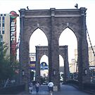 Replica Brooklyn Bridge, New York New York Hotel, Las Vegas, Nevada  by lenspiro