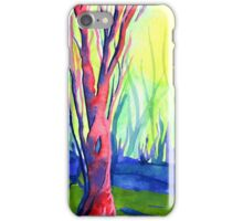 Shining Cliff Woods, Derbyshire iPhone Case/Skin