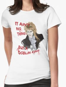 Goblin King Womens Fitted T-Shirt