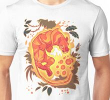Fire Tiger with Berries Unisex T-Shirt