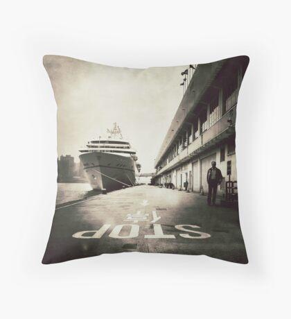 Ocean Terminal, Hong Kong Throw Pillow