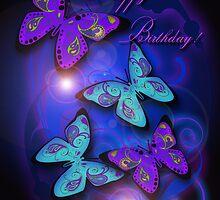 Paisley Butterflies by Cherie Balowski