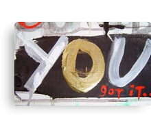 anything you want 7 Canvas Print
