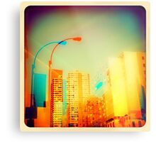 """""""double vision of ny ny is always a good thing"""" Metal Print"""