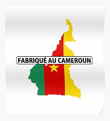 made in cameroon Poster
