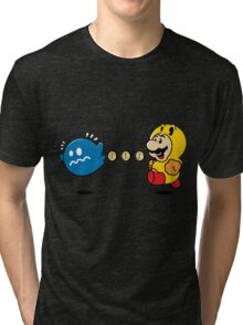 Power Pellet Power Up Tri-blend T-Shirt