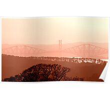 Misty Bridges! Poster