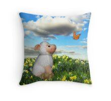 Easter 2012 Throw Pillow