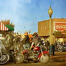 Toys for Tots Motorcycle Rally by Sherryll  Johnson