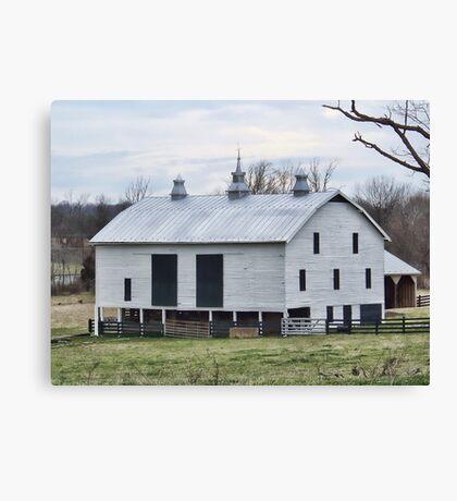 Barn Near Stephens City Canvas Print