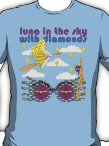 Luna In The Sky - cloud version T-Shirt