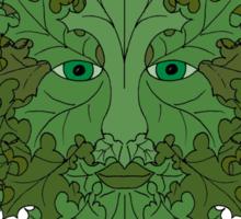 Greenman Worship Tee Sticker