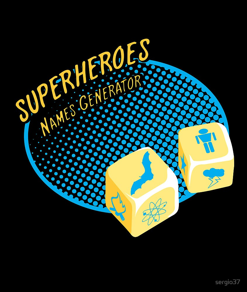 Superheroes name-generator by sergio37