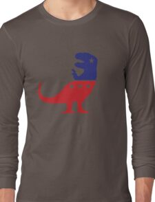 T-Rex Political Logo Long Sleeve T-Shirt