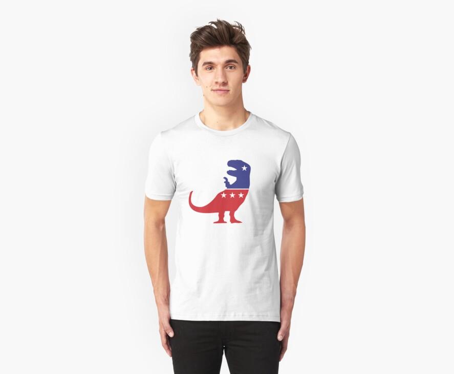 T-Rex Political Logo by jezkemp