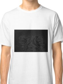 A pair of roses in black Classic T-Shirt