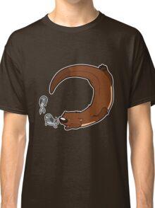 Swimming otter Classic T-Shirt