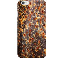 """""""Fireflies Annual Convention"""" (rust abstract) iPhone Case/Skin"""